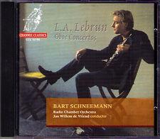 Bart SCHNEEMANN: LEBRUN 1752-90 Oboe Concerto 1 2 4 CD Jan Willem de Vriend
