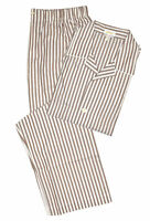 Brioni Men's Brown 100% Cotton Striped Pajamas