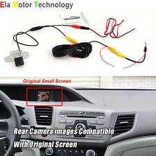Car Rear View Back Up Camera For Honda Civic (FB) 2011~2015 RCA Original Screen