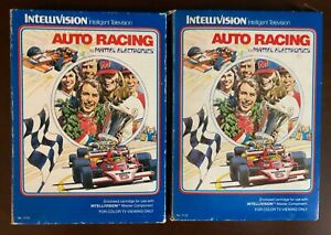 Auto Racing from Mattel Electronics for Intellivision CIB