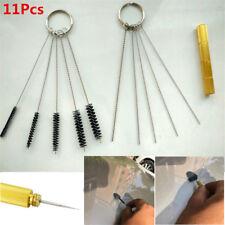 11Pcs Car Windshield Spray Wiper Washer Nozzle Washer Cleaning Needle Brush Tool