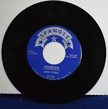 BRIEN FISHER - FINGERTIPS & A CHANCE SOMEDAY - RARE OHIO 1957 ROCKABILLY 45RPM