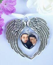 Ailes d'ange Coeur photo souvenir bouquet charme image personnalisée souvenir Charme Cadeau