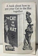 Revell Dr. Seuss Cat in the Hat Model kit Instruction booklet! 1959!