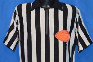 vintage 50s REFEREE WESTERN CONNECTICUT FOOTBALL OFFICIALS ASSOCIATION JERSEY L