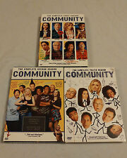 Community DVD Seasons 1-3 (Used) Complete