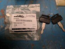 CASE NEW HOLLAND KOBELCO Escavatore 2 X CHIAVI DI ACCENSIONE P/N PM50S01001P1