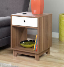medium wood tone - Bedroom End Tables