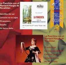 LA PANCHITA (María de los Ángeles Muñóz Rodríguez) NEW CD* Con Mariachi Vargas