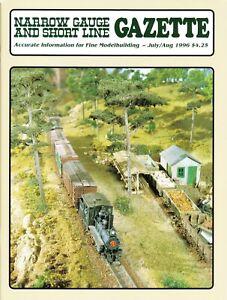 NARROW GAUGE & SHORT LINE GAZETTE 7-8/96