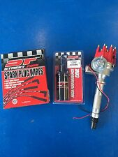 Sbc BBC Hei Distributor Small Big Block Chevy Electronic With MSD Coil And Wires