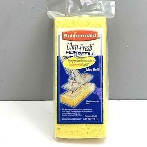 Rubbermaid Ultra Fresh Mop Refill Sponge Style G012 G011 2002 Sealed Package