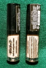 2X Kat Von D ~ Lock It Concealer Creme ~ Light L11 Neutral ~ 0.065oz ea ~ Sealed