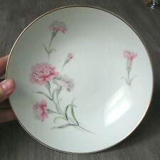 Soup Bowl Carnation Pattern Fine China Royal Court Japan