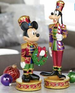 Disney Christmas Nutcracker Mickey And Goofy children kids Musical Light holiday