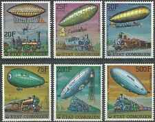 Timbres Trains Dirigeables Comores 179/82 PA121/2 ** lot 6531