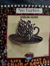 Mary Engelbreit Teacup Cherries Pin New