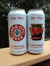 Pittsburgh Brewing Co. Iron City Beer Salutes Wdve 50th Anniversary 16 oz can