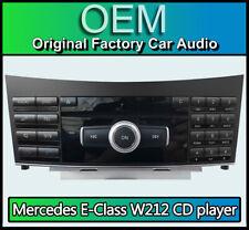Mercedes E-Class CD player stereo radio, Mercedes W212 A2129003908 CQ-MP3870GA