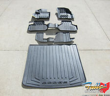 2012-2019 Dodge Journey 1st 2nd 3rd Row & Cargo Area All Weather Mat Set New OEM