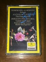 new sealed classical Cassette Albinoni Vivaldi Four Seasons Pachelbel Canon DG