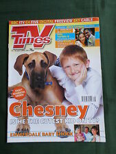 TV TIMES -LYNDA BELLINGHAM  - BRIAN CAPRON  - 17 -23 JULY 2004