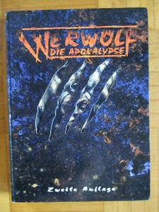 Werwolf Die Apokalypse – Grund-Regelwerk Zweite Auflage - Deutsch Hardcover – F