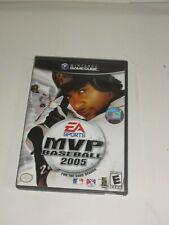 MVP Baseball 2005 Nintendo GameCube Game Case Instructions Sports