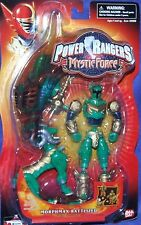 "Power Rangers Mystic Force GREEN Morphmax Ranger New 5"" Factory Sealed"