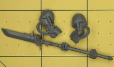 Warhammer 40K Space Marines Grey Knights Terminator Force Halberd & Arms (B)