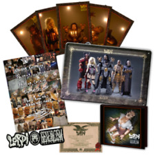 LORDI SEXORCISM CD Box Set AUTOGRAPHED Tin PLate patch boxset LAST TWO
