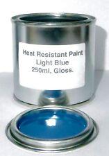 250ml Light Blue Gloss Heat Resistant Paint Engine Caliper Brake Metal Steel