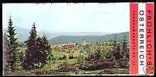 Österreich, Panoramakarte 35, Niederösterreich, Steiermark, Burgenland, um 1980