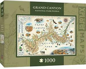 MasterPieces Xplorer Maps Jigsaw Puzzle, Grand Canyon, 1000 Pieces