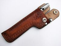 RIFLE BOLT CARRIER LEATHER POUCH WALLET .22