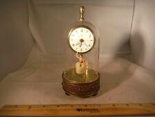 """Vintage German Schmid Domed Spinning Ballerina """"Emperor Waltz"""" Clock & Music Box"""