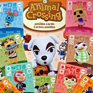 Animal Crossing Series 2 Amiibo Cards Pick your Own 100-199 - Nintendo Switch