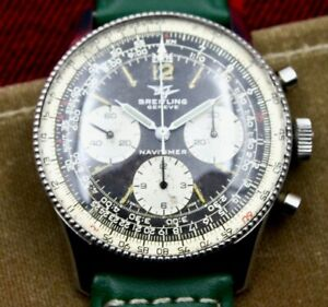 Breiling Navitimer 806 1950s 3 Register Venus 178 Chronograph - Just Serviced