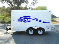 Trailer graphics camper decals RV vinyl van motor home trailer atv garage door
