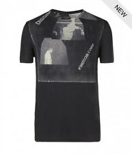 "*NEW - ""ALLSAINTS"" MEN'S BLACK ""DISSIM BAND"" T-SHIRT SIZE ""2XL"" W TAGS ATTACHED!"