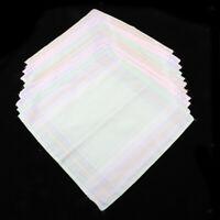 12x fazzoletti di cotone 100%