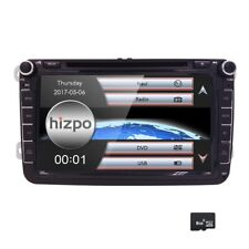"VW Volkswagen Amarok Golf Tiguan 8"" GPS Navigation DVD Stereo Radio Bluetooth"