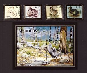 Mauritius 2007 The Dodo set sheet MNH mint stamps
