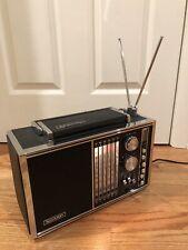 1960s Vtg Sharp Deluxe Transoceanic 17 Transistor Radio Multi-Band Shortwave BFO