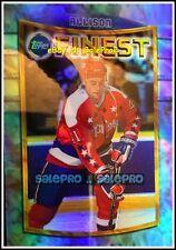 TOPPS FINEST 1994 JASON ALLISON NHL WASHINGTON CAPITALS RARE * REFRACTOR * #55