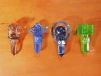 Lot of 4 Skylanders,Trap Tm;Life Hammer Trap,Earth Hourglass,Undead Orb,Tiki Trp
