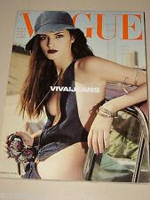 VOGUE MAGAZINE ITALIA=2000 MAY=Amanda Moore by Steve Meisel=