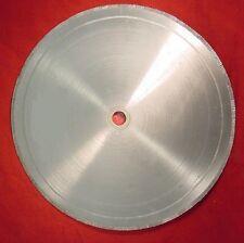 "18"" diamond lapidary rock slab  saw blade  fits 5/8 inch  arbor w/bushing  DT"