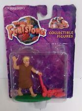 THE FLINTSTONES - Barney Mowing The Lawn Action Figure Mattel 1993 Toy Figure
