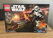 LEGO Star Wars Scout Trooper & Speeder Bike 2017 (75532) New in Sealed Box
